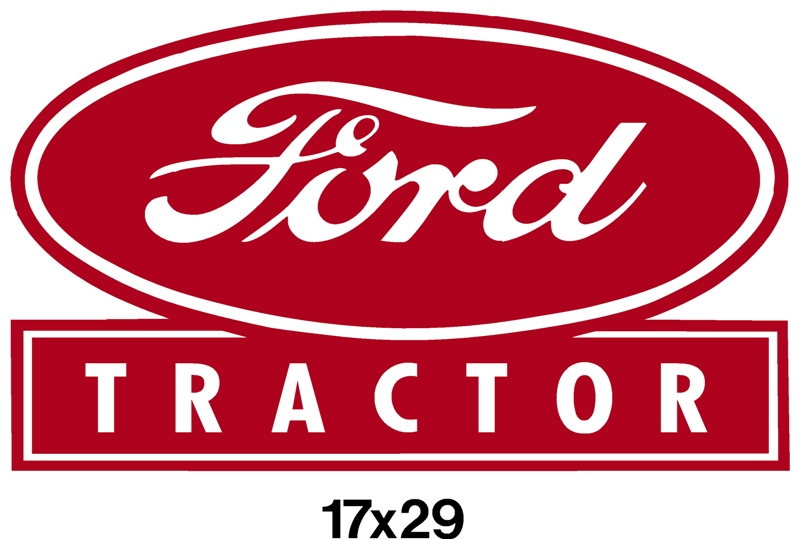 Old Ford Tractor Decals : Old ford tractor decal