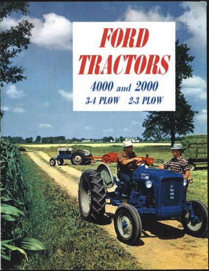 ford 4000 select o speed manual